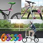 Goldpool-Lucchetto-a-combinazione-colorata-per-bicicletta-a-5-cifre-con-supporto-per-bambini-lunghezza-120-cm