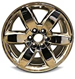 Automotive : New 20 Inch GMC Sierra 1500 Denali Yukon 6 Lug Replacement Chrome Wheel Rim 20x8.5 Inch 6 Lug 78.1mm Center Bore 31mm Offset 9597223