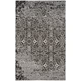 Safavieh Classic Vintage Collection CLV224B Silver and Brown Area Rug (6'7″ x 9'2″) Review