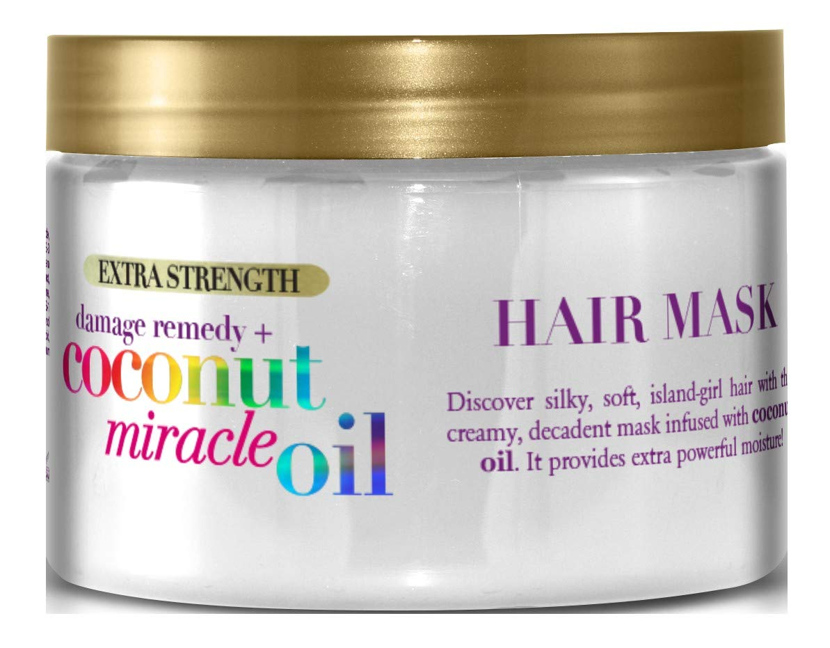 Ogx Coconut Miracle Oil Damage Remedy Hair Mask 6 Ounce Jar (6 Pack)