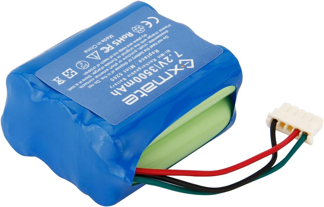 7.2V 3.0AH Battery for iRobot 4409709 Braava 380 380T 390 390T Mint 5200 5200C