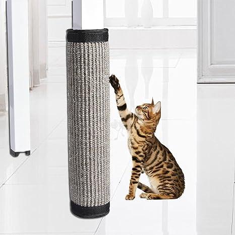 Biback - Tabla de Entrenamiento antiarañazos para Gatos, Mueble de Cama, Protector de Mesa