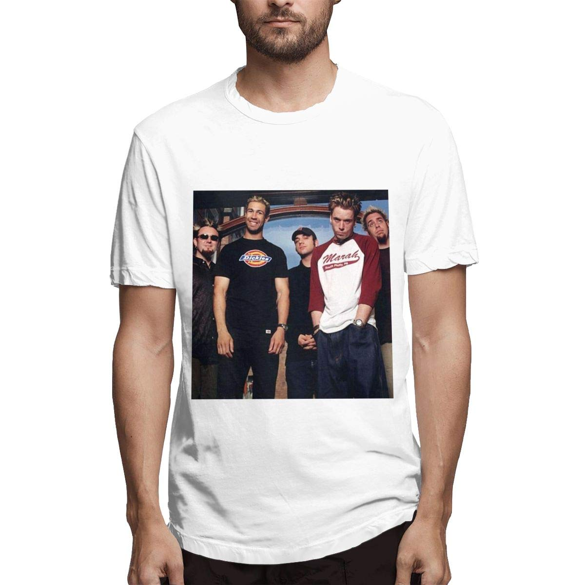 Lihehen Bloodhound Gang Fashion Leisure Round Neck T Shirt