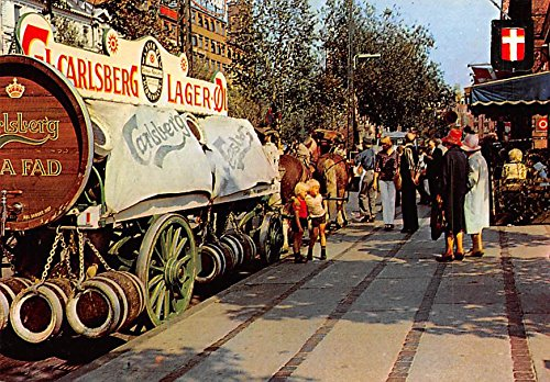 the-carlsberg-beervan-copenhagen-denmark-danmark-postcard