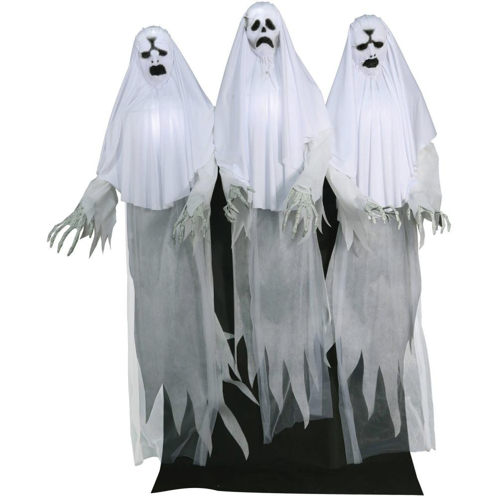 Haunting Ghost Trio Animated Halloween Decoration by BLOSSOMZ