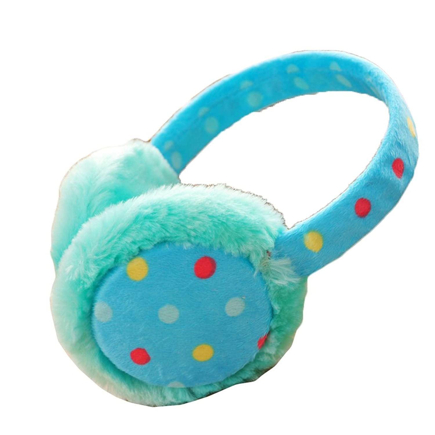 Surker Winter Womens Velvet Dots Warm Earmuffs HA02101