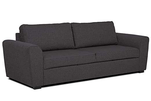 Confort24 Paul Sofa Cama 3 Plazas en Tela: Amazon.es: Hogar