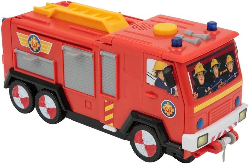 Giochi Preziosi Sam Il Pompiere Jupiter 2 in 1 Con Veicolo e Accessori