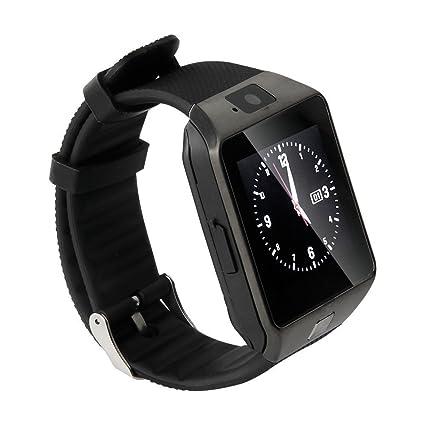 Amazon.com: Jrelecs Smart Watch Dz09 Bluetooth Smartwatch ...