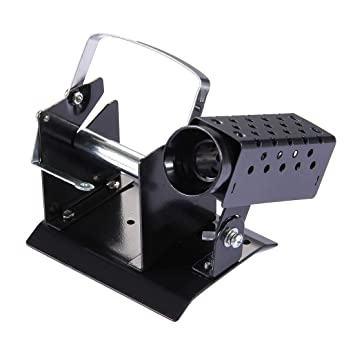 herramientas manuales, Baogu Metal soporte de soldador con soporte de alambre de soldadura: Amazon.es: Bricolaje y herramientas