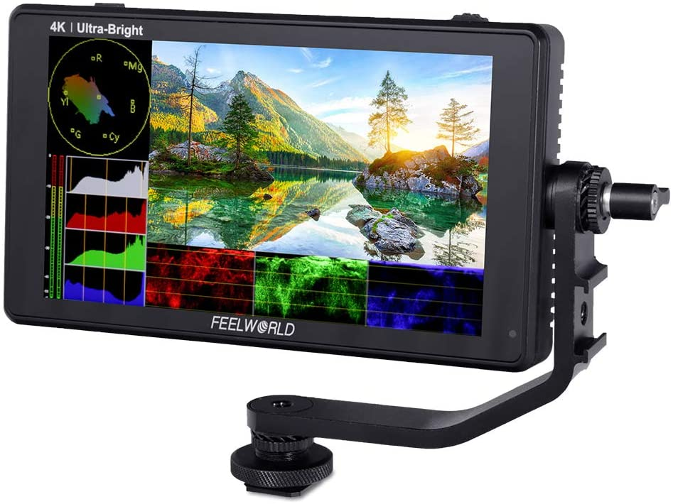 FEELWORLD LUT6 6 Inch 2600nits HDR 3D LUT Touch Screen DSLR