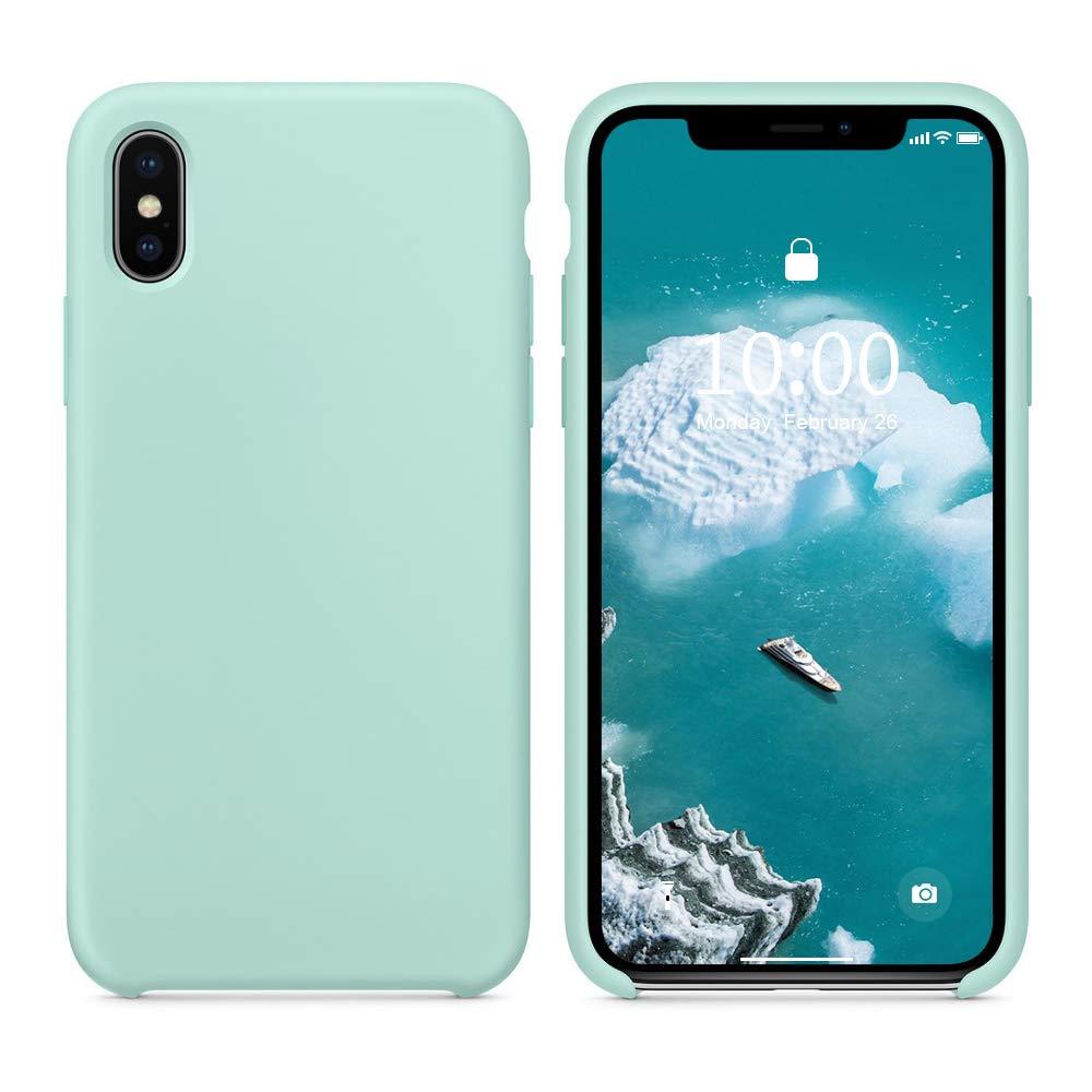 mint green iphone xs case