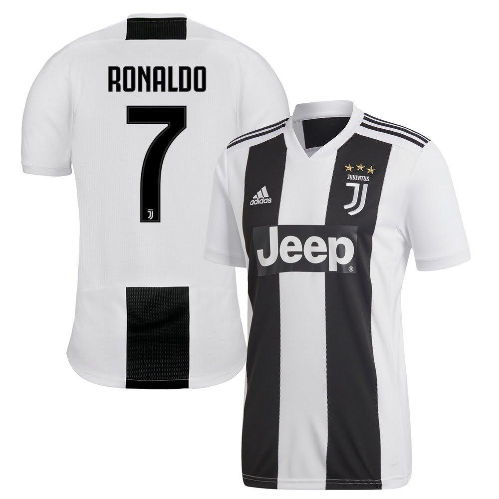 innovative design 662b5 cddc3 Amazon.com : adidas Juventus Home Ronaldo 7 Jersey 2018/2019 ...