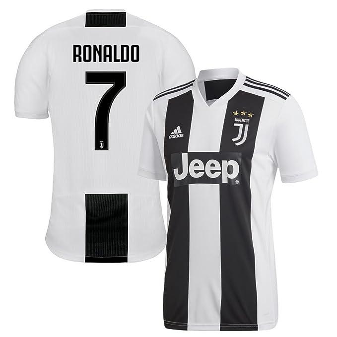 159f251ce Amazon.com   adidas Juventus Home Ronaldo 7 Jersey 2018 2019   Sports    Outdoors