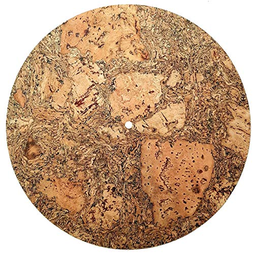 Cork And Rubber Turntable