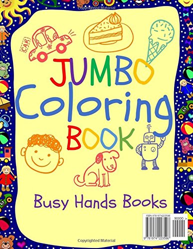 Jumbo Coloring Book Jumbo Coloring Books For Kids Giant