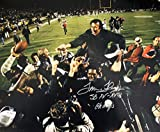 Autographed Tom Flores 16x20 Oakland Raiders Photo with COA