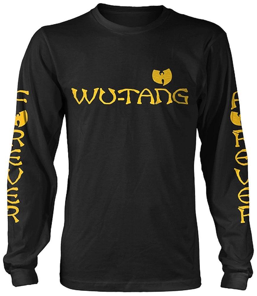 Wu-Tang Clan Logo Longsleeve Black Wu Tang Clan