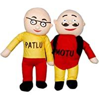 NS-14 Kids Motu Patlu Soft Toy (Multicolour, Height-42 cm)