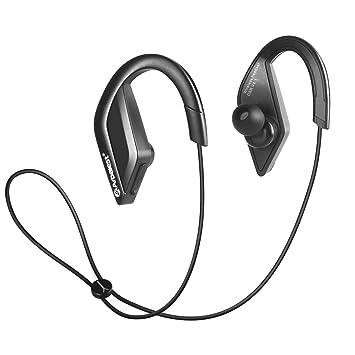 Arbalest® Auriculares para Deporte Bluetooth Inalámbricos sin cable Manos Micrófono incorporado Silicona del ganchos para