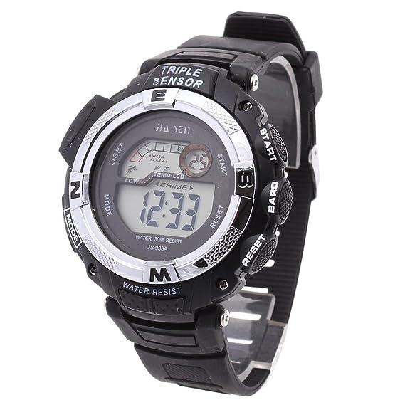 Reloj digital para hombre LED reloj de pulsera Sport Reloj Calendario regalo nuevo: Amazon.es: Relojes