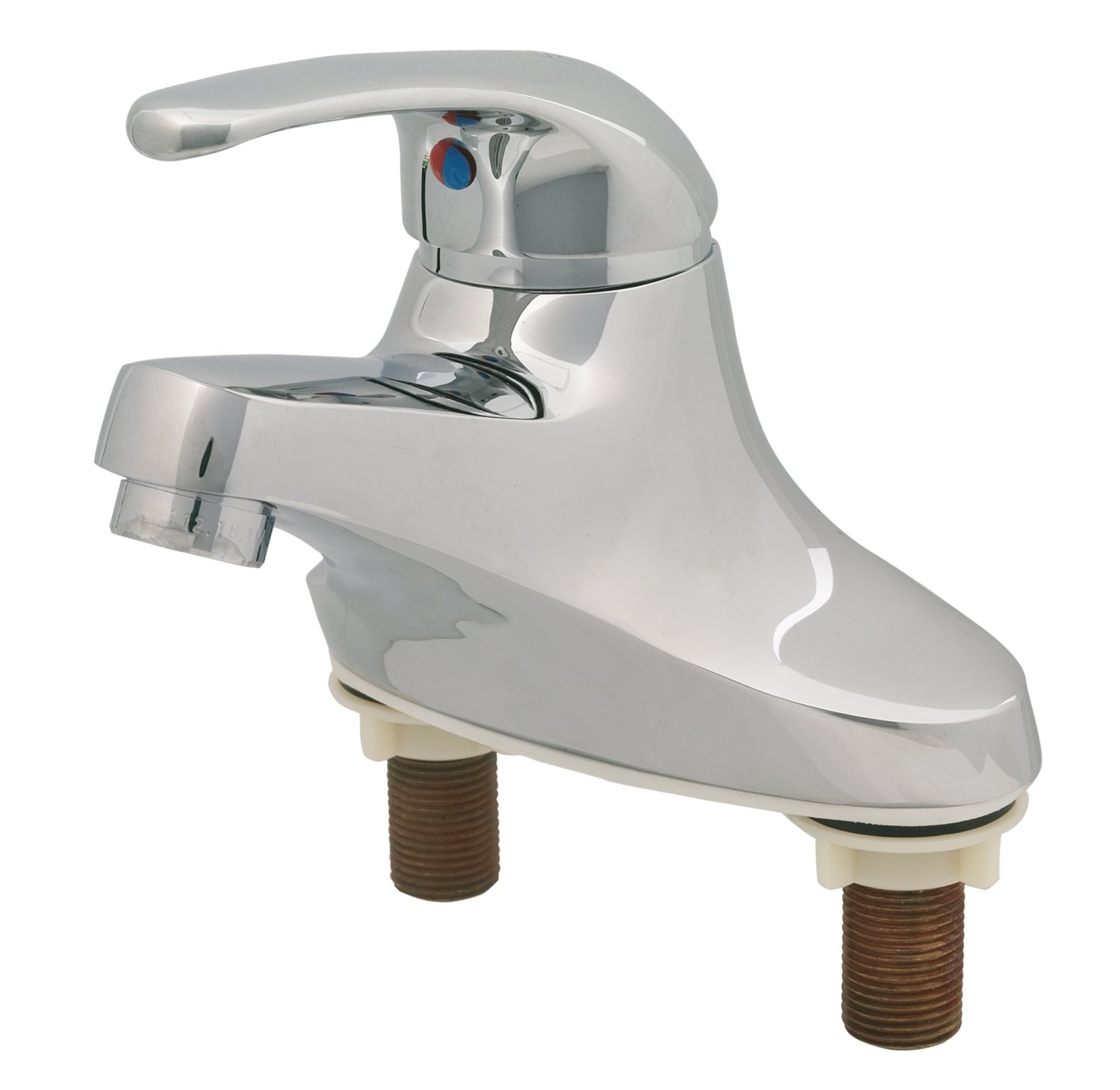T&S Brass B-2711 Single Lever Faucet, 4-Inch Center - Touch On ...