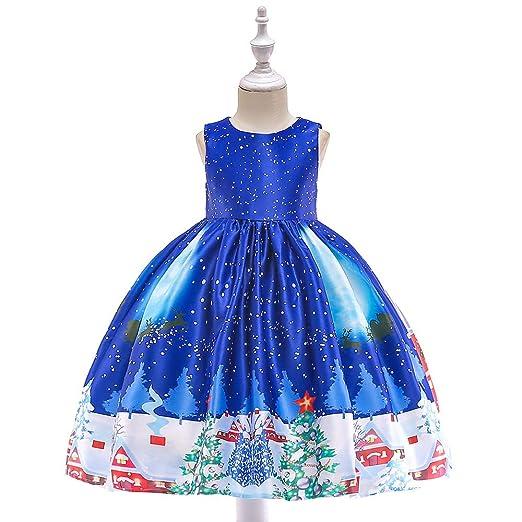 HHFF 2018 Nuevo niños Vestidos de Princesa de Navidad Traje Chica ...