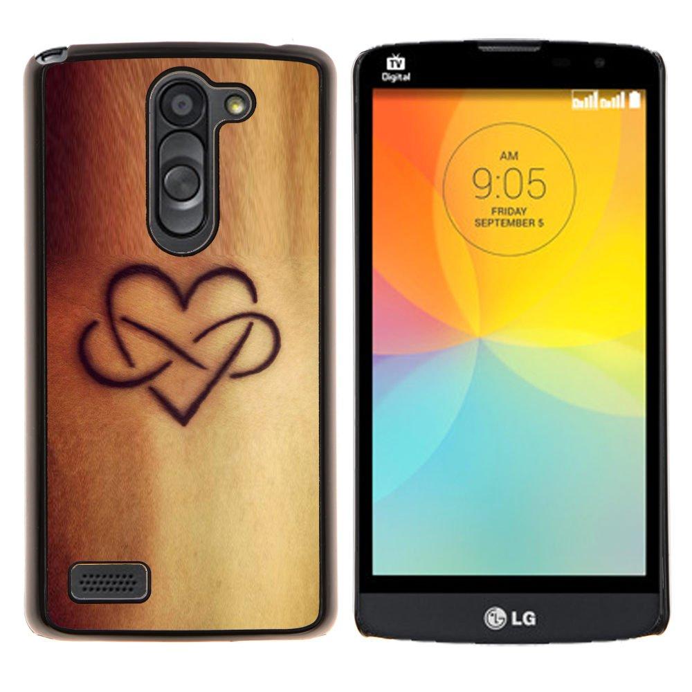 Snap-on Series Teléfono Carcasa Funda Case Caso para LG L Prime ...