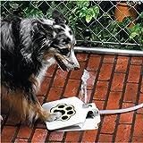 Drinking Warm Water Jzlian Durable Outdoor Doggie Water Fountain Step-on Fresh Cold Drinking Water