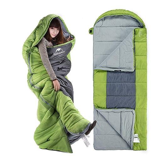 LXB Saco de Dormir para Acampar + Almohada de Viaje con Saco de ...