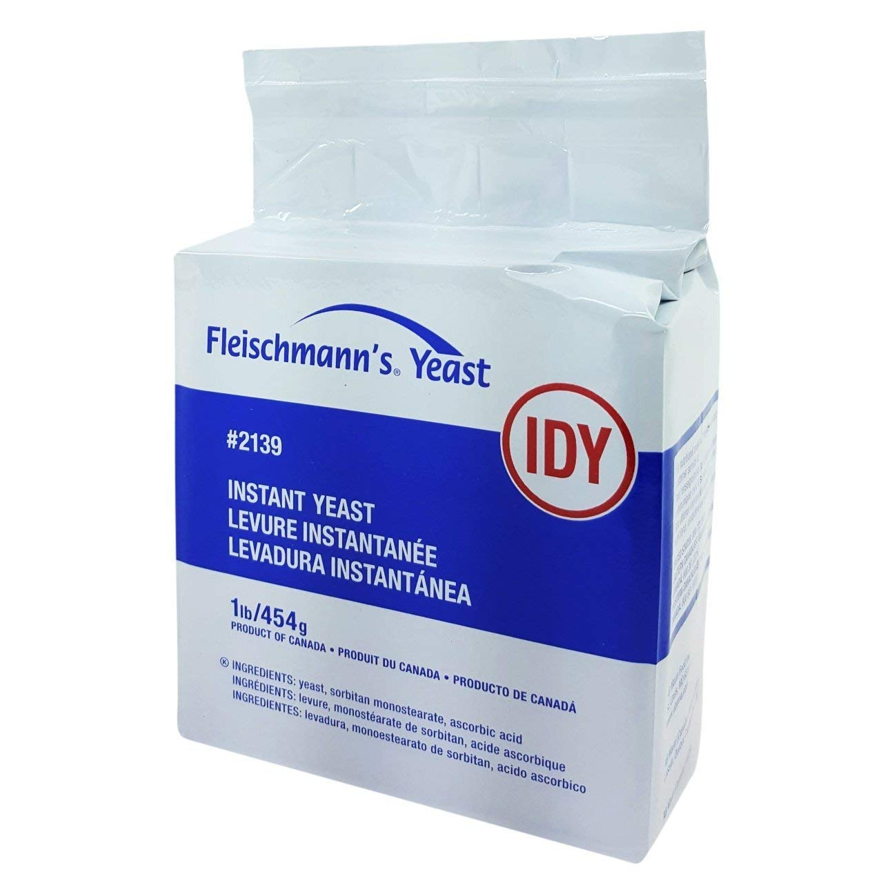 B000LRFVHE Fleischmann's Instant Dry Yeast 1lb bag 61hknuv77qL