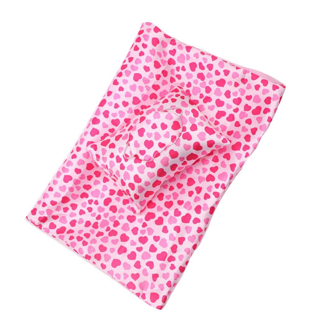 Amazon.es: Sharplace American Girl Saco de Dormir con Almohada y Parches de Ojos para Muñeca de 18 Pulgadas: Juguetes y juegos