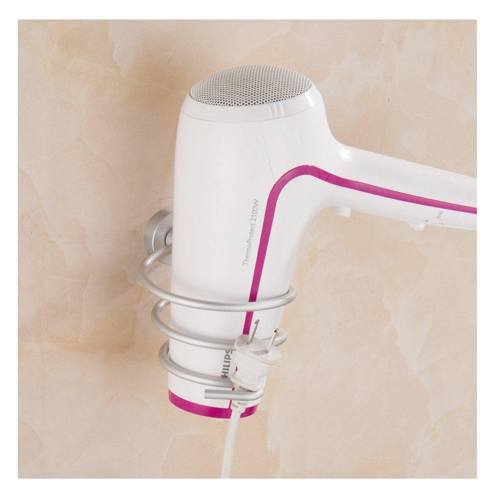 OUNONA Porta asciugacapelli montaggio a parete mensola di asciugacapelli
