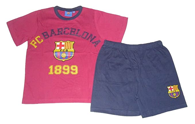 Barcelona F.C. - Pijama dos piezas - para niño claret and navy