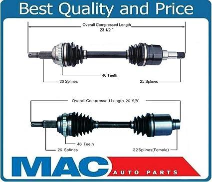 Mac Auto Parts 138782 Sure Trac NEW D/S & P/S CV Drive