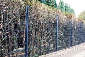 Stahlzaun Preisangebot Doppel-Stab Matten Zaun Komplettangebot Gartenzaun