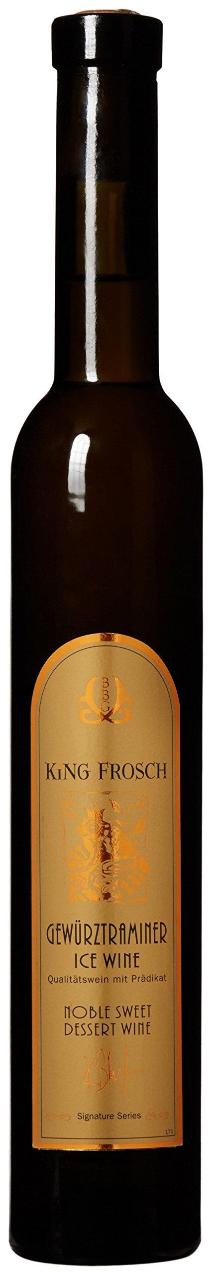 2002 King Frosch Gewürztraminer 375 mL All Natural German Dessert Wine