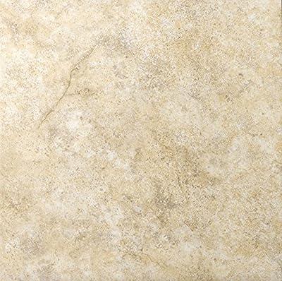 """Emser Tile F84TOLEBE1313 """"Toledo"""" Ceramic Tile, 13"""" x 13"""", Beige"""