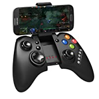 CONTROLE JOYSTICK BLUETOOTH GAMEPAD PARA TABLET, CELULAR E IPAD UNIVERSAL ANDROID E IOS COMPATIVEL COM WINDOWS, ANDROID TV E PC