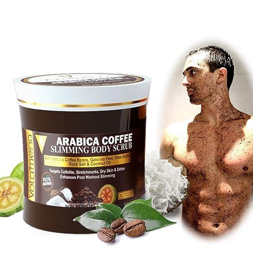 Amazon.com: Volamena Arabica Coffee Slimming Body Scrub, 250 ...