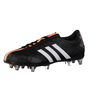official photos 07fb8 9cb45 adidas Performance 11 Pro SG Traxion M Men s Futbol Soccer White Leather  Shoes, Black
