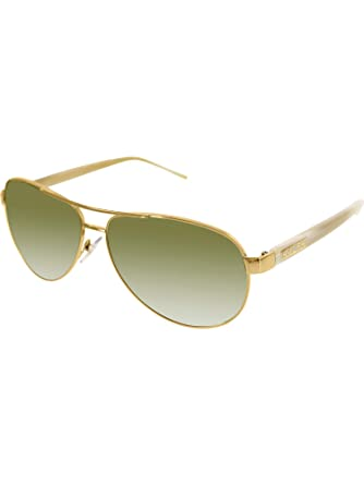 c3fae3b44 Amazon.com: Ralph By Ralph Lauren RL-RA4004 - 101/13 Gold and Cream with  Brown Gradient Lenses Women's Sunglasses: Ralph Lauren: Clothing