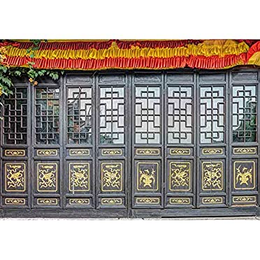 Wall26 Antique Carved Wooden Doo Wall Murals