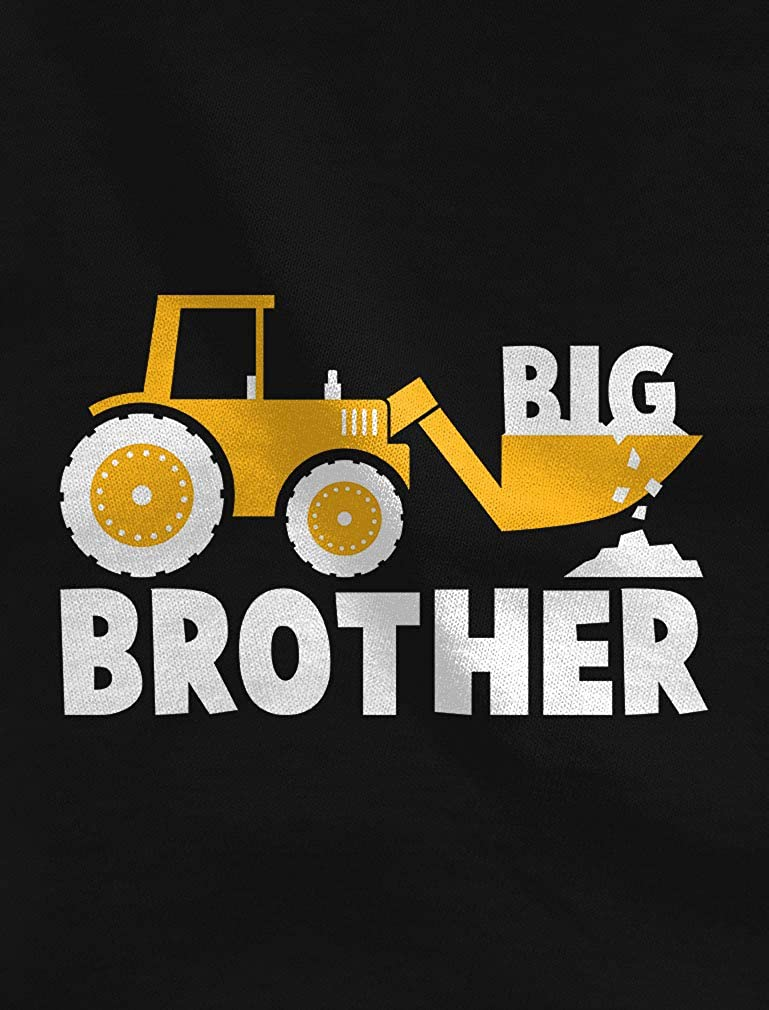 Big Brother Gift Tstars Tractor Loving Boy Toddler//Kids Sweatshirt