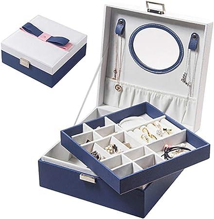 boite a bijoux bleu marine