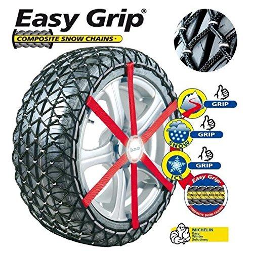 Michelin 008173 Easy Grip - Cadenas de Nieve Compuesto: Amazon.es: Coche y moto