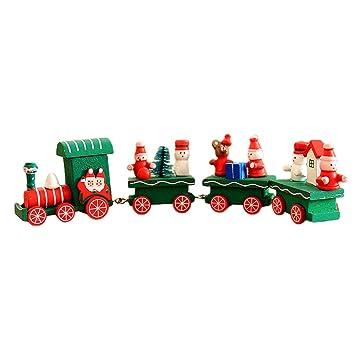 Niños bebé juguete de madera 4-coches coloridos dibujos ...