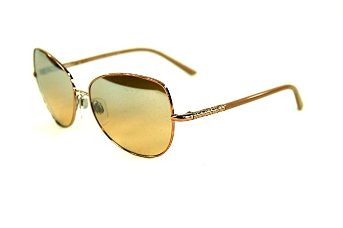 1260ae9a142f Image Unavailable. Image not available for. Colour  Burberry Sunglasses -  3054   Frames  Rose Gold Beige Lens  Mirror Silver Gradient