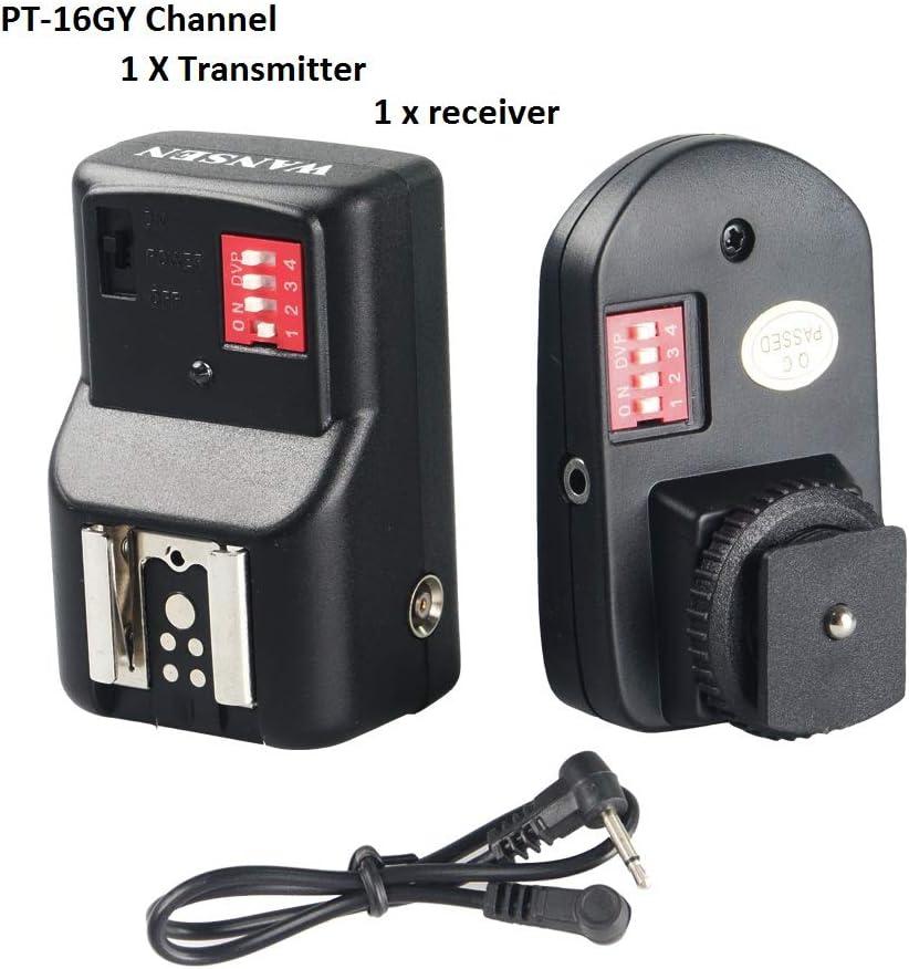 SSEDEW Universal 16 Channels Radio Wireless Remote Speedlite Flash Trigger for Flashe Speedlite 1 to 2