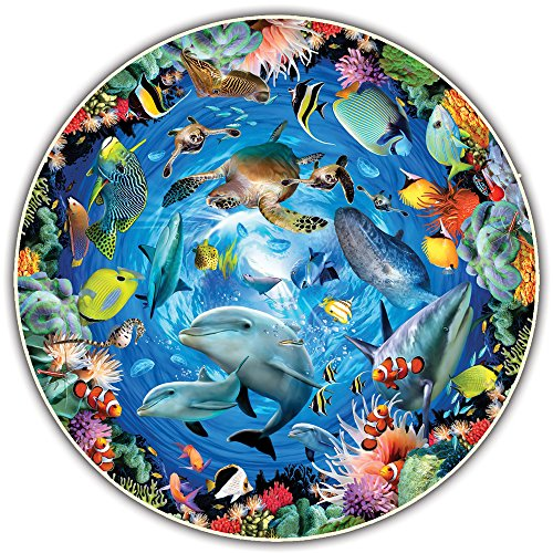 Round Table Puzzle - Ocean View (500 Piece) ()